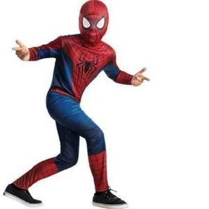Boys Marvel The Amazing Spiderman Costume-sz S & M